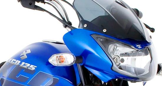 Bajaj XCD 125 carenaje azul