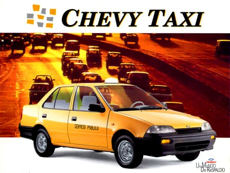 Chevrolet Swift Chevy taxi