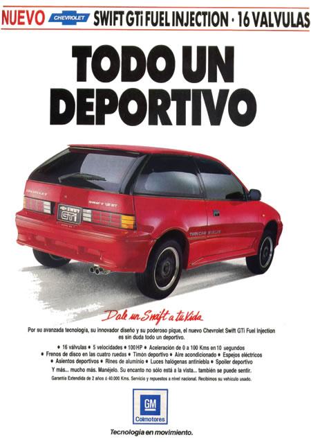 Chevrolet Swift GTI 1993