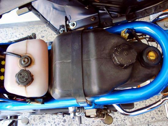 Yamaha Chappy tanque de gasolina
