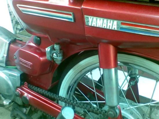 Yamaha V80 detalle
