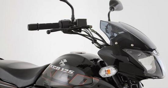 Bajaj XCD 125 diseño