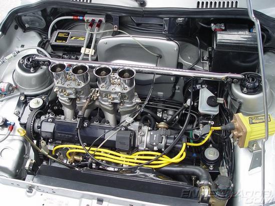 Fiat Uno Nuevo detalle motor