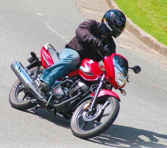Honda CBF 150 En marcha