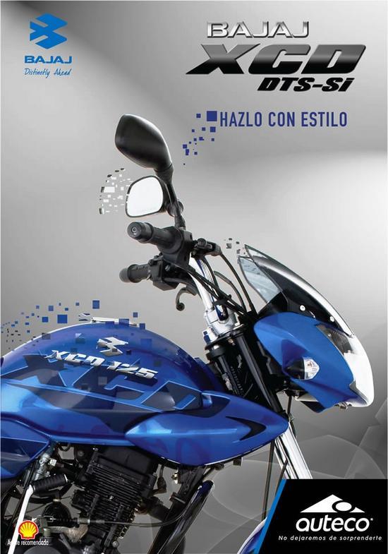 Bajaj XCD 125 estilo