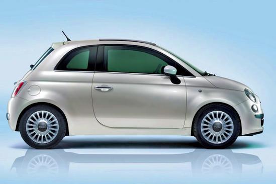 FIAT 500 perfil