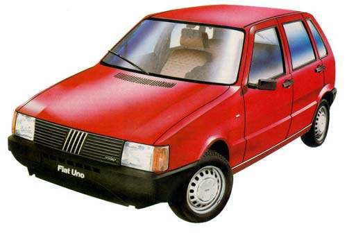 Fiat Uno antiguo