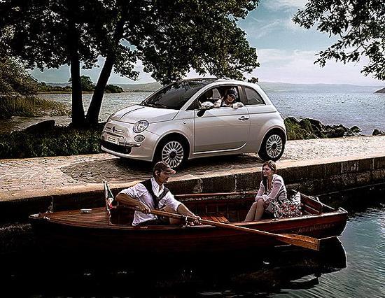 FIAT 500 un auto tecnológico y refinado