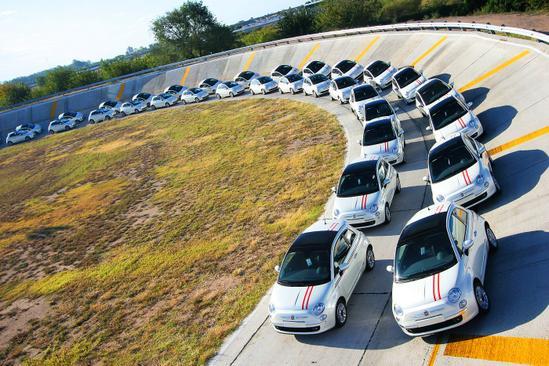 FIAT 500 exposicion