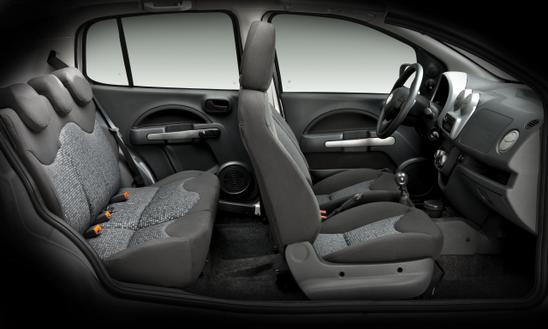 Fiat Uno Nuevo habitaculo