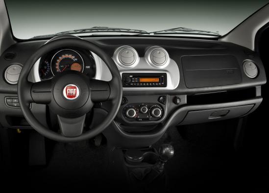 Fiat Uno Nuevo panel de control
