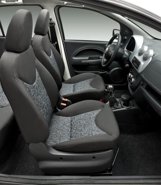 Fiat Uno Nuevo asientos delanteros