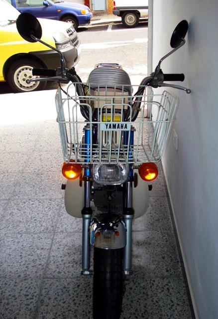 Yamaha Chappy frontal