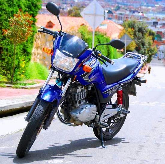 Suzuki GSX 150 frontal