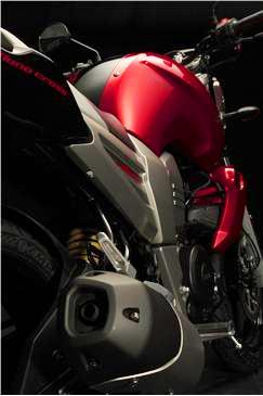 Yamaha Fazer 16 admira su diseño