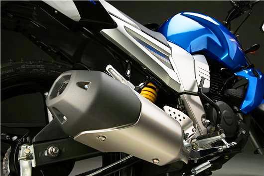 Yamaha Fazer 16 exosto