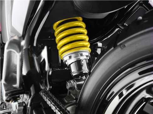 Yamaha Fazer 16 suspension