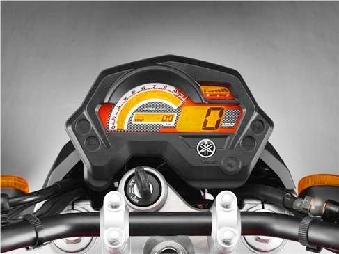 Yamaha Fazer 16 velocimetro apagado