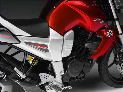 Yamaha Fazer 16 detalle diseño
