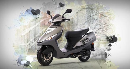 Honda Elite 125 detalles que combina las últimas tendencias