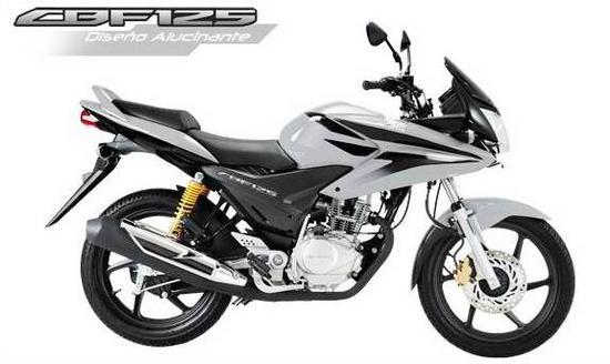 Honda CBF 125 Gris