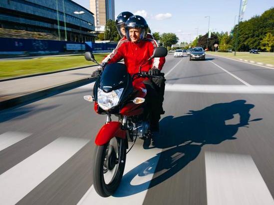Honda CBF 125 En marcha