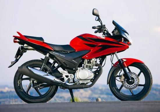 Honda CBF 125 Lateral Derecho