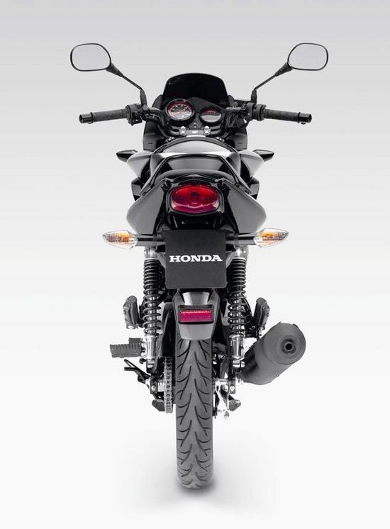 Honda CBF 125 Vista trasera
