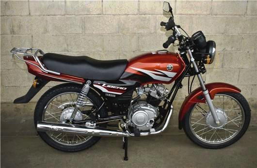 Yamaha Libero 110 perfil