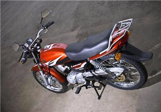 Yamaha Libero 110 vista trasera