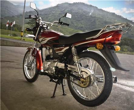 Yamaha Libero 110 admirala