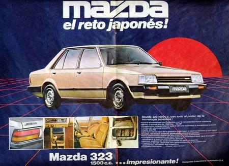 Mazda 323 el reto japones