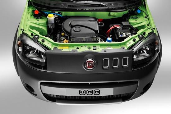 Fiat Uno Nuevo motor