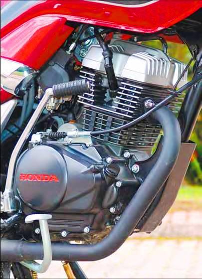 Honda CBF 150 motor