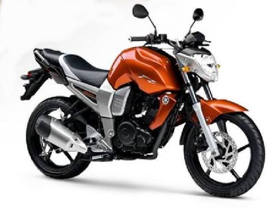 Yamaha Fazer 16 naranja