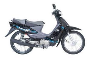 Suzuki Vivax 115 negro