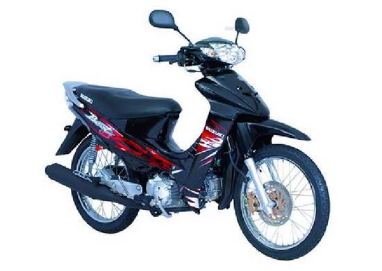 Suzuki Best 125 negro espacial