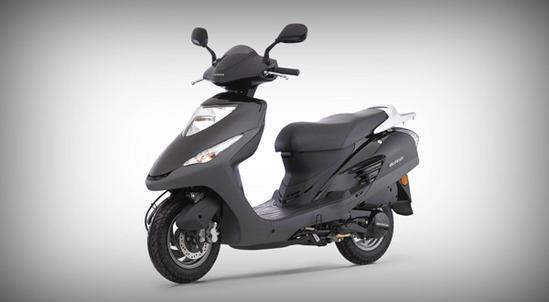 Honda Elite 125 negro