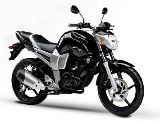 Yamaha Fazer 16 negro
