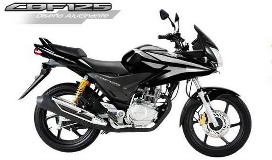 Honda CBF 125 Negro