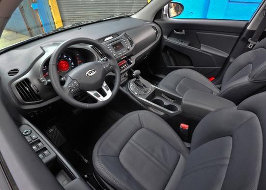 Kia Sportage 2011 Interior