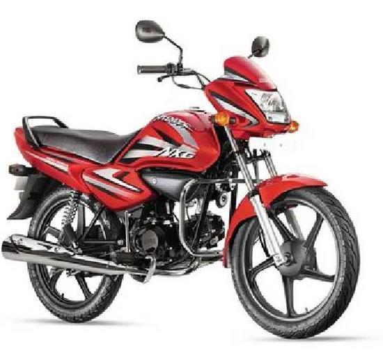 Honda Splendor NXG roja