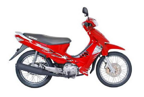 Suzuki Best 125 rojo flama