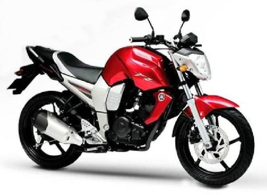Yamaha Fazer 16 rojo
