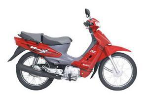 Suzuki Vivax 115 rojo flama