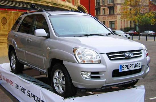 Kia Sportage segunda generacion