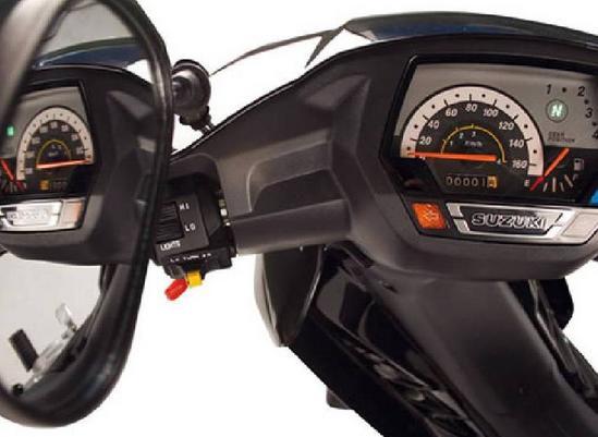 Suzuki Vivax 115tablero de mando