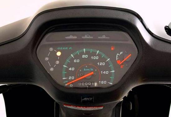 AKT AK 110 S Radio velocimetro