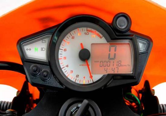 AKT AK 200 XM Velocimetro digital
