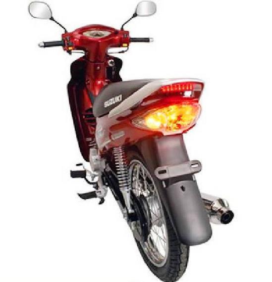 Suzuki Best 125 vista trasera